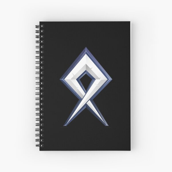 BDcraft Rune Spiral Notebook