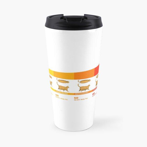 Chonk Chart Cat Meme  Travel Mug