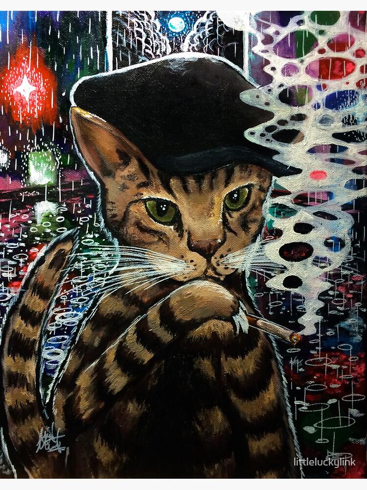 Zappito the Rain Cat by littleluckylink