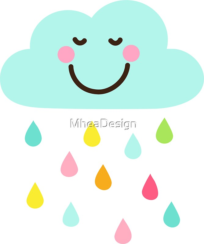 """Cute happy cloud..."