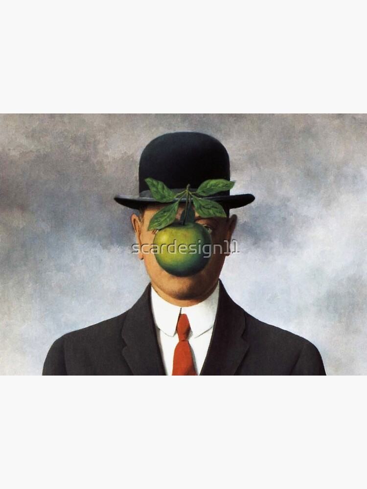 René Magritte - The Son of Man by scardesign11