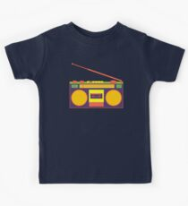 boombox - old cassette - Devices Kids Tee