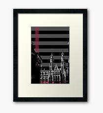 Magna Plaza Framed Print