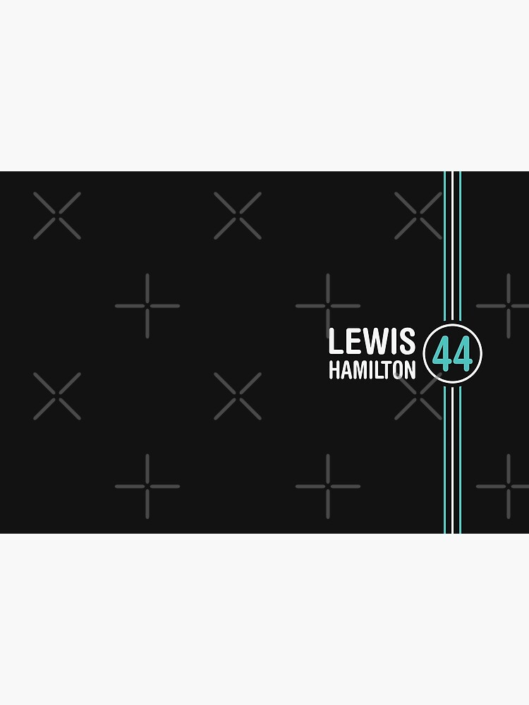 «Lewis Hamilton Champion du Monde de Formule 1 Motorsports» par AdanicPro