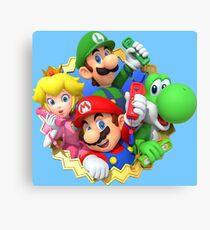 Mario party 10 Canvas Print