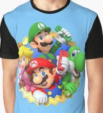 Camiseta gráfica Fiesta de Mario 10