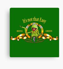 It's not that easy Canvas Print