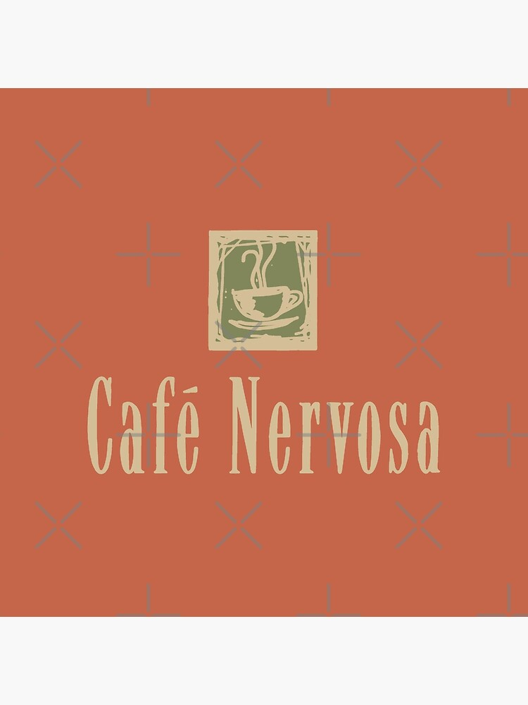 Cafe Nervosa sign – Frasier, Seattle by fandemonium