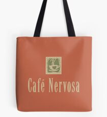 Cafe Nervosa sign – Frasier, Seattle Tote Bag