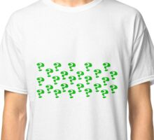 Riddler Question marks Classic T-Shirt