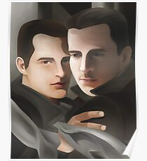 The Gray Scarf Poster