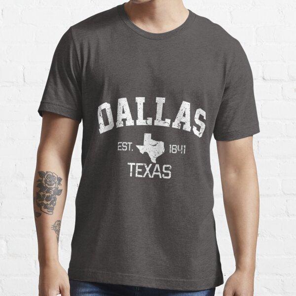 Vintage Dallas Texas Est 1841 Souvenir Gift Essential T-Shirt