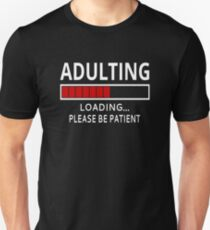 Image result for millennial  t-shirt  adulting