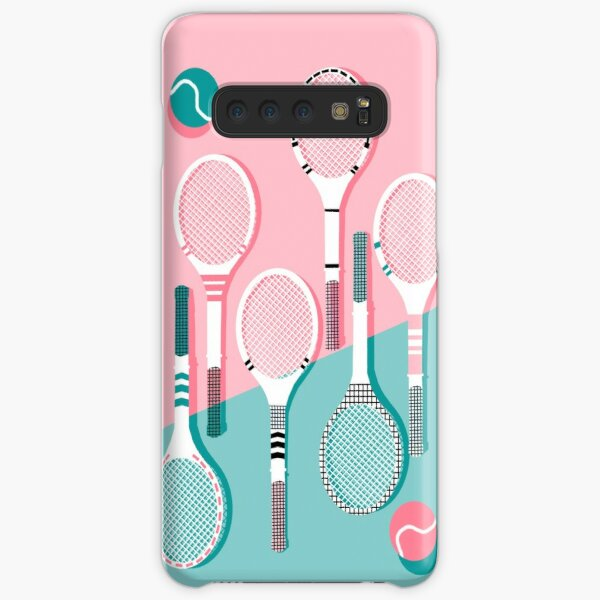Got Served - tennis country club sports athlete retro throwback memphis 1980s style neon palm spring Samsung Galaxy Snap Case