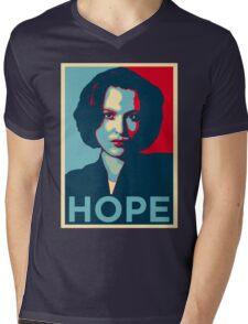 DANA SCULLY HOPE Mens V-Neck T-Shirt