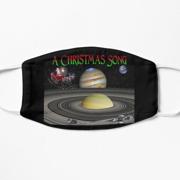 A Christmas Song Flat Mask