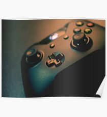 XBOX One Controller Top View Poster