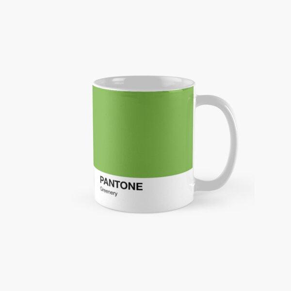 Pantone Colour Greenery. Colour of the year 2017. Classic Mug