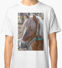 Horse Head close-up Classic T-Shirt