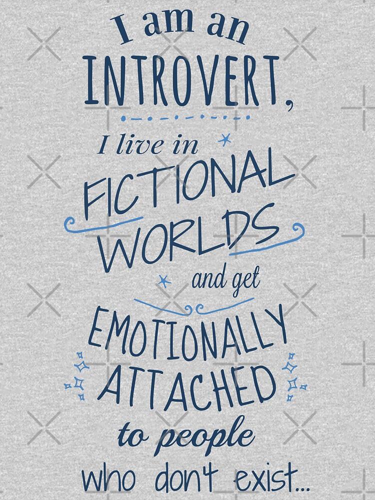 mundos introvertidos, ficticios, personajes ficticios de FandomizedRose