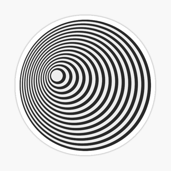 Twilight Zone Tunnel Sticker