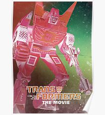 G1 Transformers Movie Poster Poster
