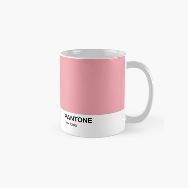 Glaseado Pantone Color Rosa Taza clásica