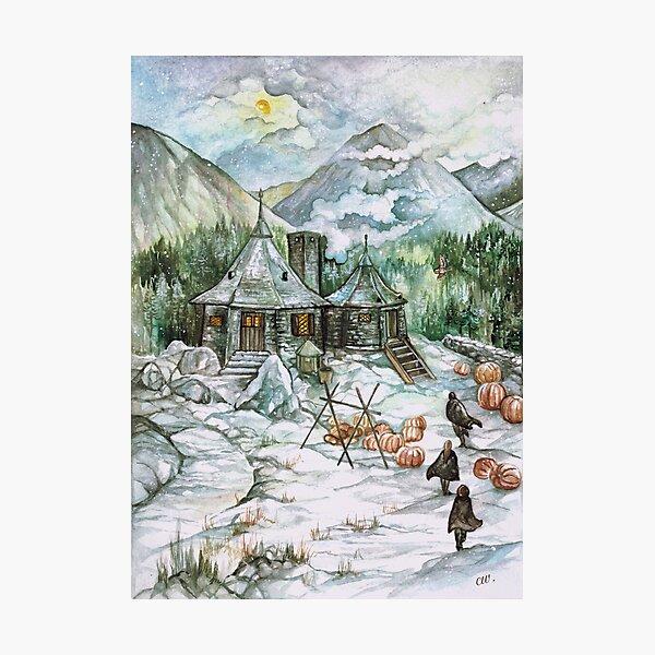 Hagrid's hut Photographic Print