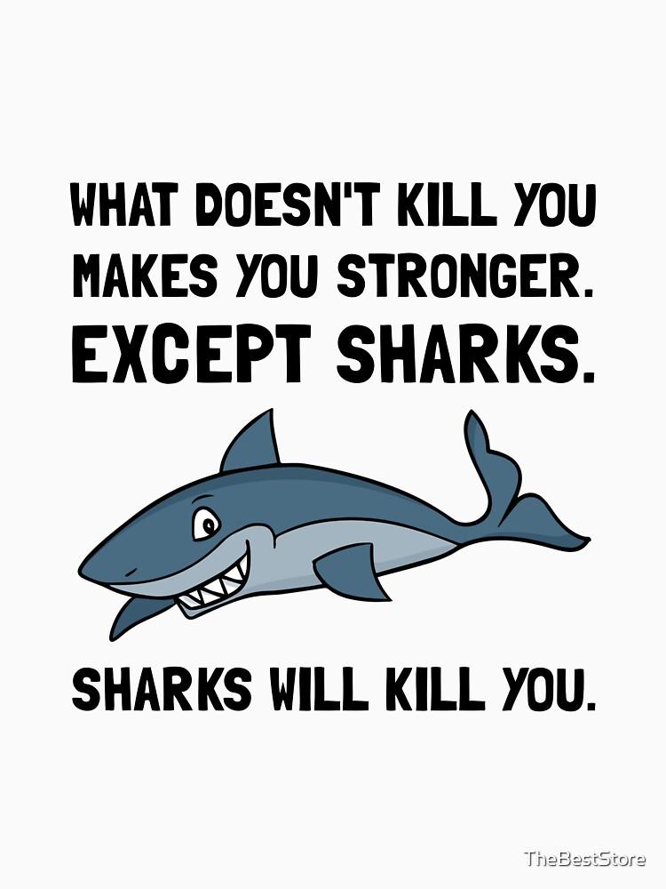 Haie werden dich töten von TheBestStore
