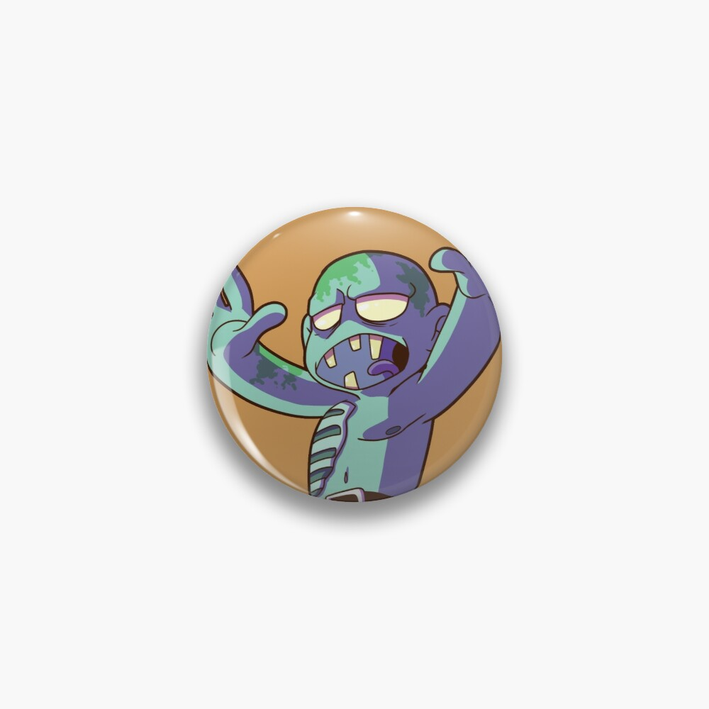 Drowned Zombie - PureClassics Pin