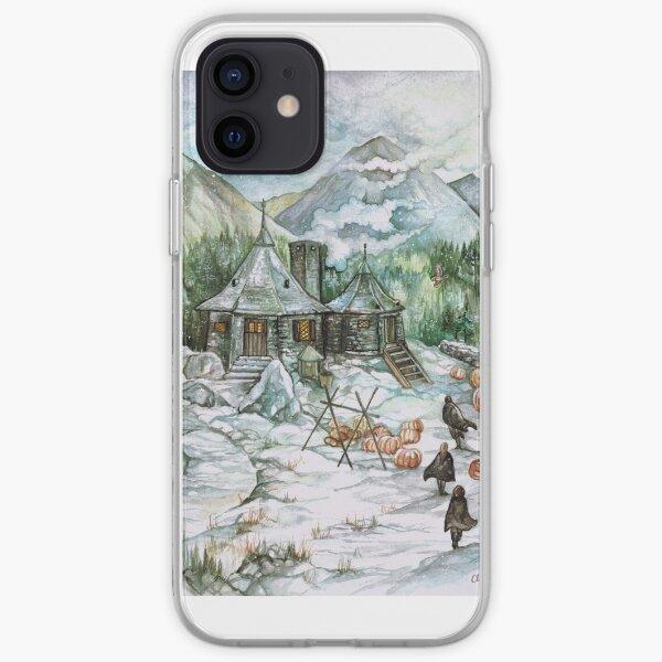 La cabane de Hagrid Coque souple iPhone