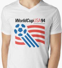 World Cup 94 USA Men's V-Neck T-Shirt