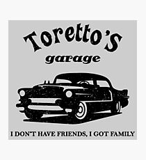 Toretto's Garage. Fast and Furious / Gas Monkey - inspired Photographic Print