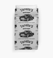 Toretto's Garage. Fast and Furious / Gas Monkey - inspired Duvet Cover