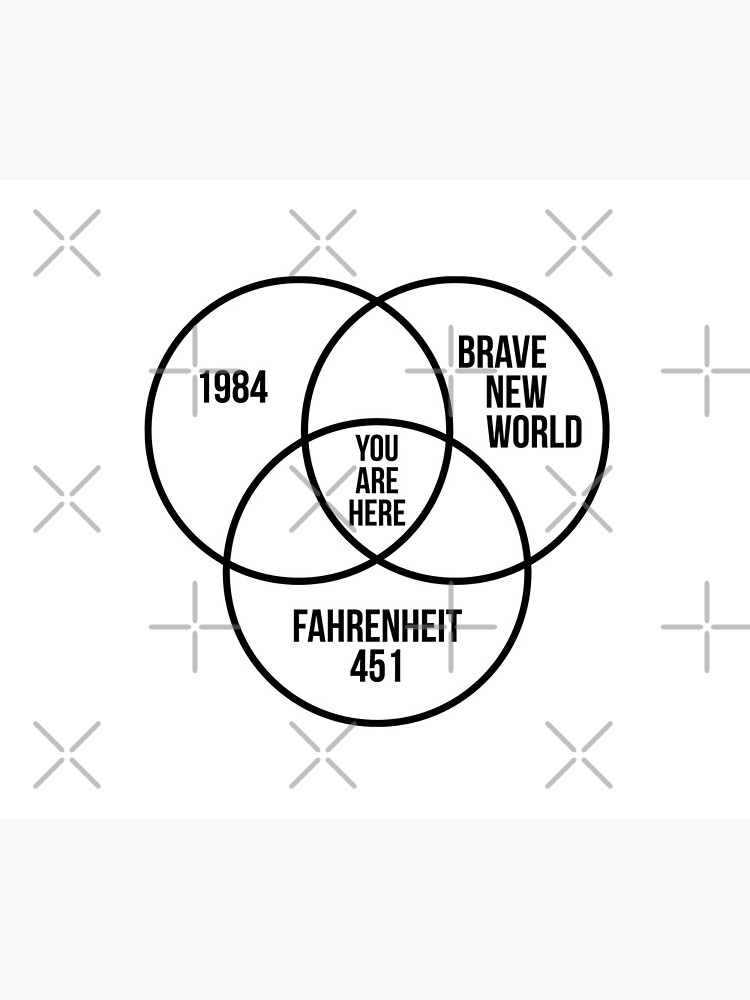 1984 Brave New World Fahrenheit 451 Conspiracy by JackCurtis1991