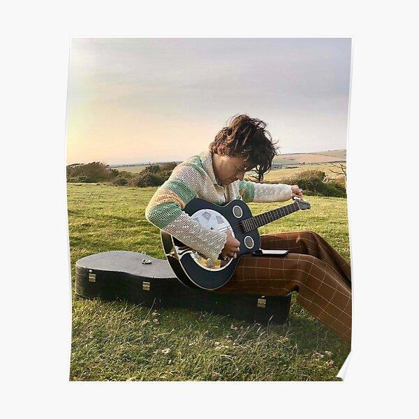 Guitar Playin par HS Poster