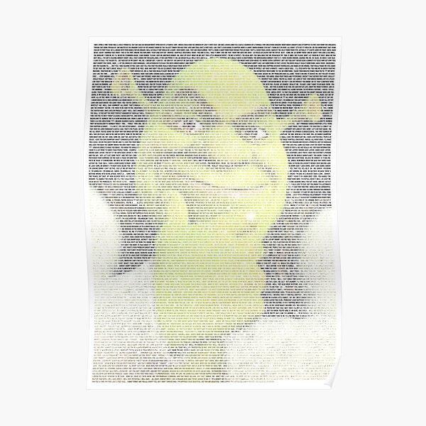 (entire) shrek (script) featuring shrek Poster