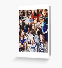 Karen Gillan Greeting Card