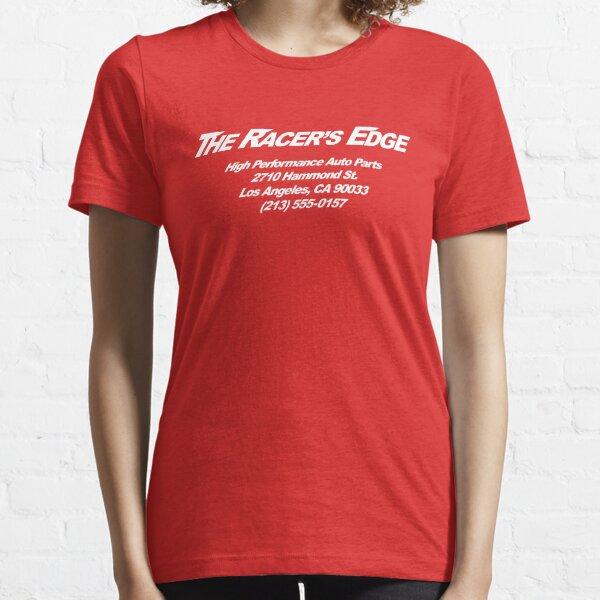 The Racer's Edge V1 (White) Essential T-Shirt