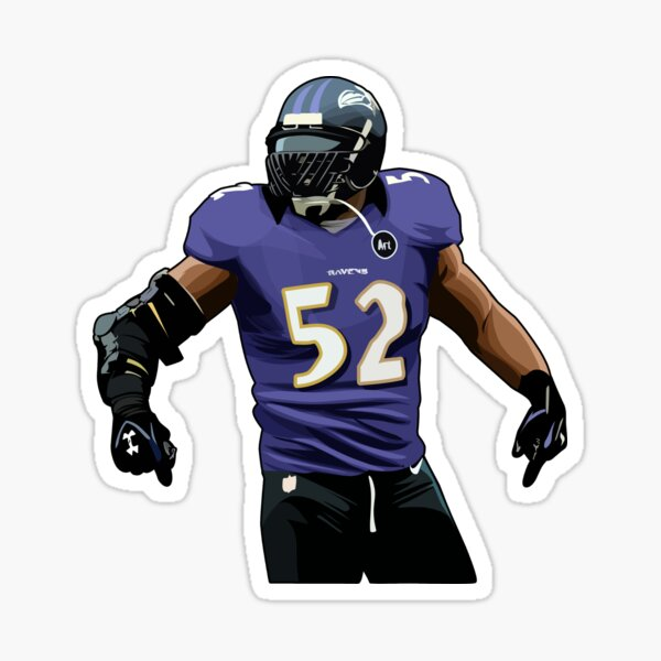 Ray Lewis Stay Back Sticker
