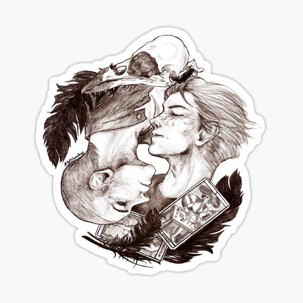 Ronan and Adam  Sticker
