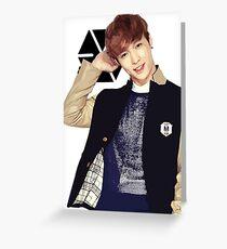 EXO - Lay Greeting Card