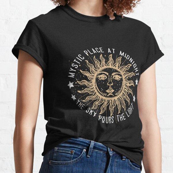 Wierd vintage sun Classic T-Shirt