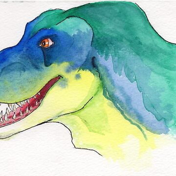 Happy Tyrannosaurus Rex by Ensis02