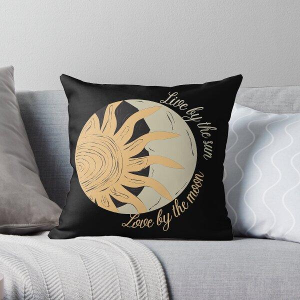 Copy of Wierd vintage sun Throw Pillow