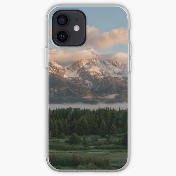 Sunrise At Grand Teton iPhone Soft Case