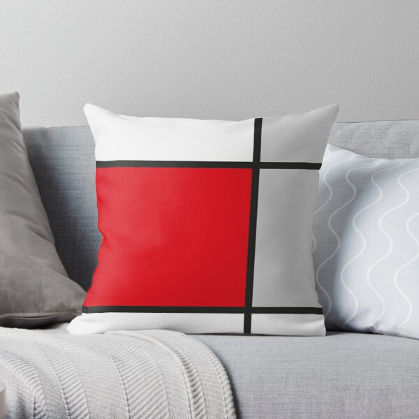 Abstract#9 Throw Pillow