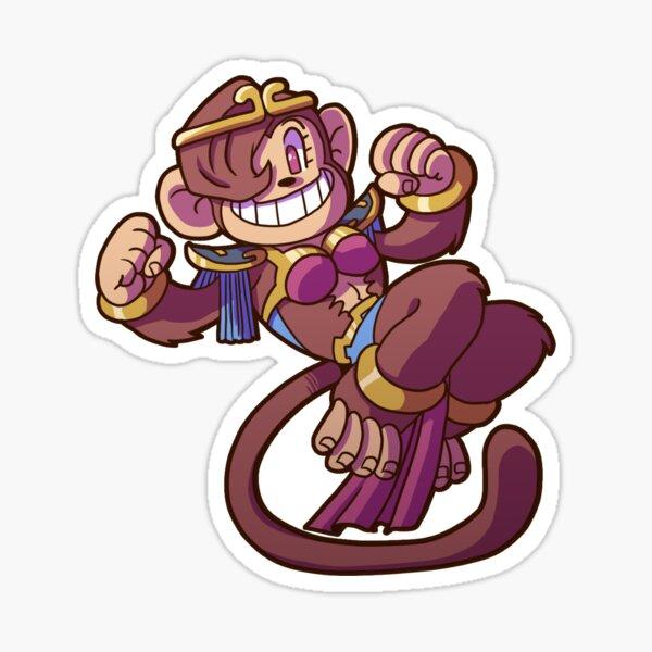 Monkey Dancer - DungeonDelvers Sticker