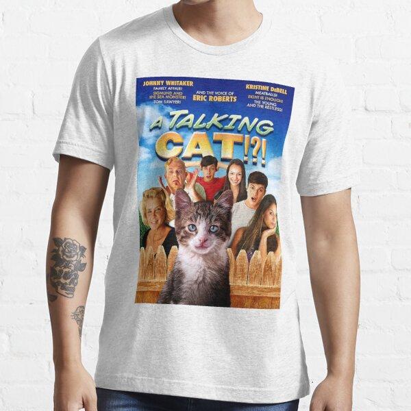 A Talking Cat!?! Masterpiece of Cinema Essential T-Shirt
