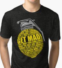 Portal 2 Cave Johnson Combustible lemon quote Tri-blend T-Shirt